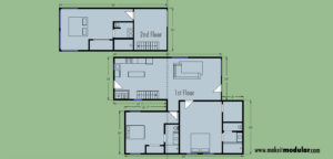 MI MOD 1440A Floor Plan Layout